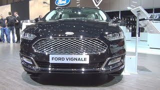 Ford Mondeo Vignale 2.0 TDCi 4x4 Shadow Black (2016) Exterior and Interior