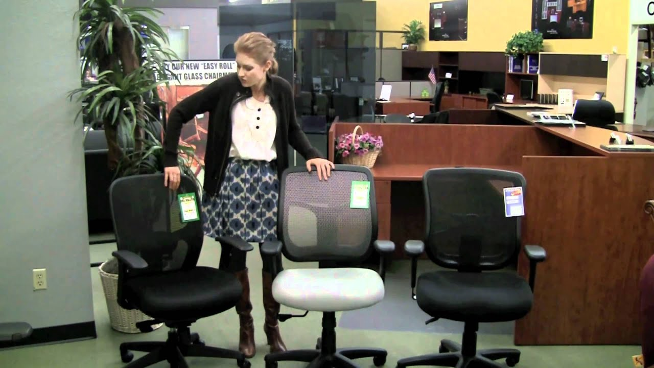 Comparison Of 3 Great Mesh Back Office Chairs   Apollo, 1.1 Respond Chair U0026  Elusion   YouTube
