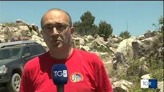 Nuova grotta scoperta a Minervino Murge TGR del 17.06.19