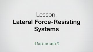 Lateral Force-Resisting Systems - braced frame, shear wall, and moment-resisting frame