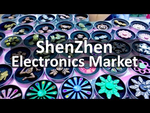ShenZhen Huaqiangbei Electronics Market Walk Through Experience