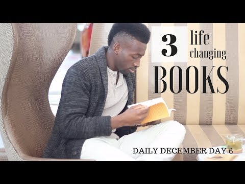 3 life changing books | must read | daily december day 6