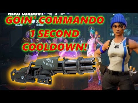 BEST GOIN' COMMANDO BUILD EVER!!! // Fortnite Save The World