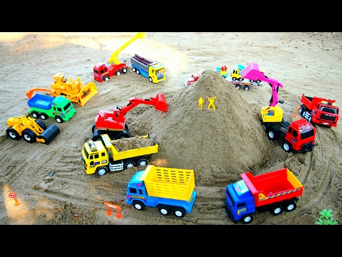 Excavator videos for children | Construction trucks for children | Trucks for children