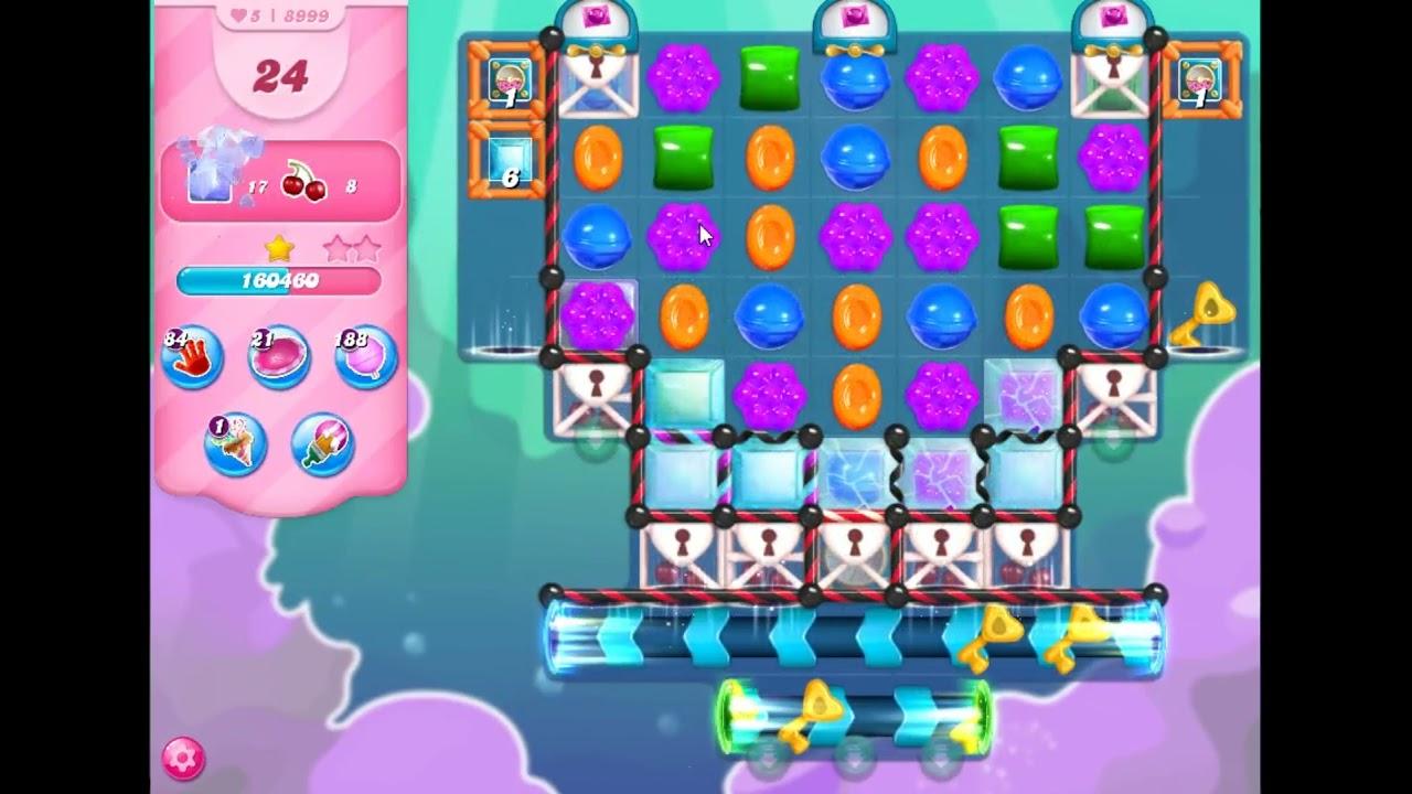Download Candy Crush Saga Level 8999 - NO BOOSTERS   SKILLGAMING ✔️