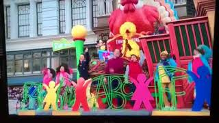 91st Annual Thanksgiving Day Parade - Sesame Street Float