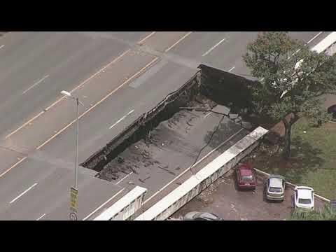 DM News :: Parte de viaduto na região central de Brasília desaba, não há feridos (06/02/18)