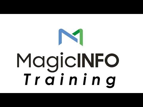 Magicinfo Author: Creating Content