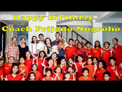 Birthday Coach Prijono Nugroho