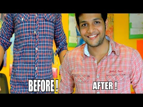 DIY SHIRT COLOUR CHANGE bleaching tutorial