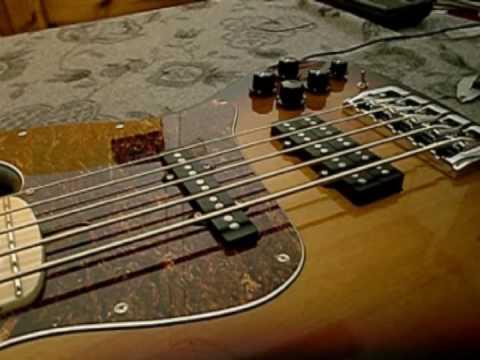 how to enhance your bass guitar b string sound part 2 frudua gfj bass youtube. Black Bedroom Furniture Sets. Home Design Ideas