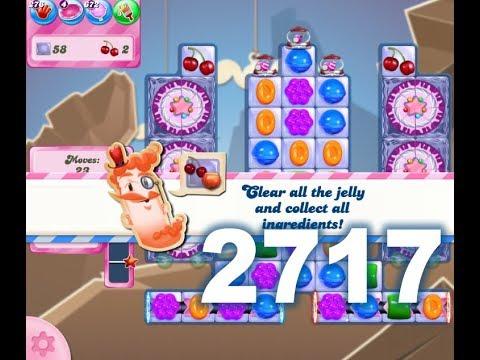 Candy Crush Saga Level 2717 (3 stars, No boosters)