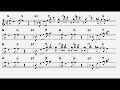 In the Mood Joe Garland 1939 Alto Sax