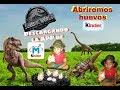 Como utilizar la APP Magic Kinder /TTambien  abrimos huevos de Jurassic park