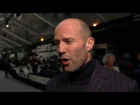 The Fate Of The Furious Jason Statham New York Premiere Interview