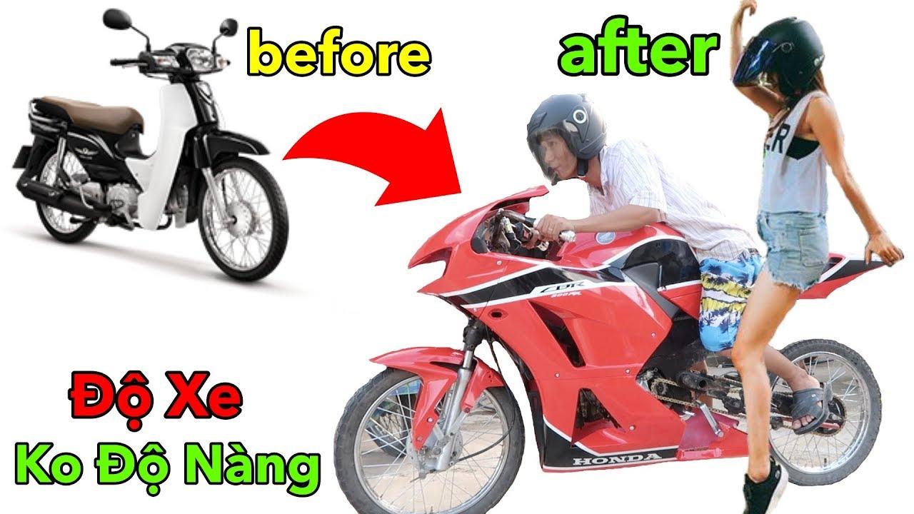 Lamtv – Biến Xe Máy Cũ Thành Xe Moto PKL Chỉ Với 5 Triệu | Honda CBR600RR – Motorcycle Modification