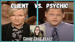 Woman Sues Her Psychic, Guess He Didn't See That One Coming | Court Case React