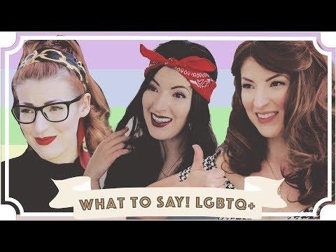 What You SHOULD Say To An LGBTQ+ Person [CC] thumbnail
