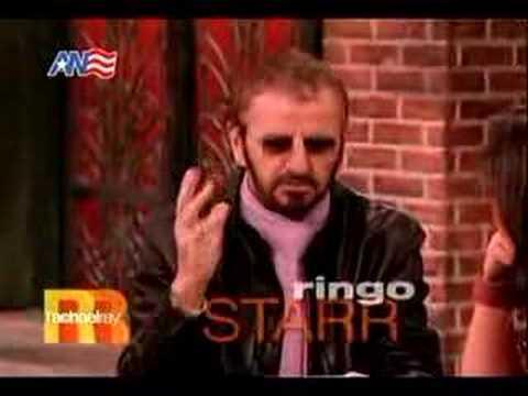 Ringo Starr @ Rachael Ray (1 of 3) - YouTube