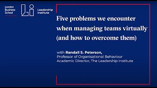 Five problems we encounter when managing teams virtually (and how to overcome them)