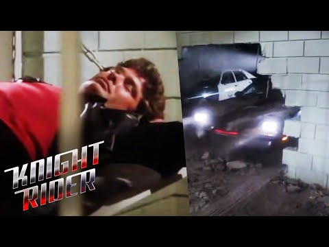 KITT Breaks Michael Out Of Jail | Knight Rider