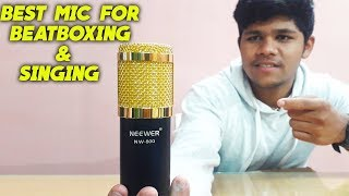 Best Condenser Mic For Beatboxing/Singing