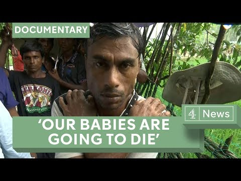 Rohingya news: the desperate journey to safety