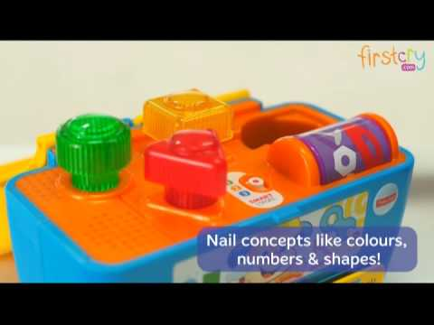 Fisher Price Laugh And Learn Smart Stages Toolbox Toy