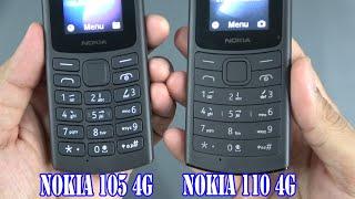 Nokia 105 4G vs Nokia 110 4G