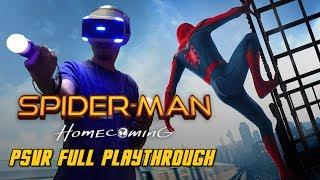 Spider-Man Homecoming VR Full Playthrough Gameplay (PS4) (PSVR)