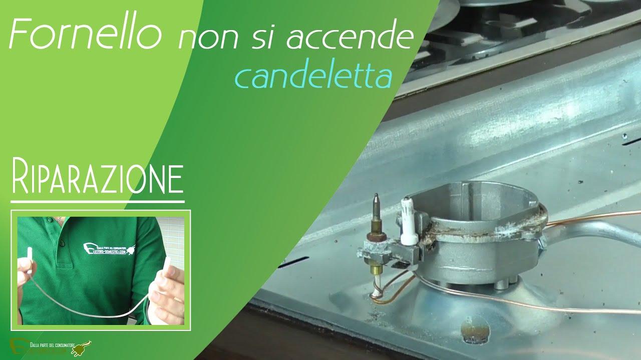 Piano Cottura Induzione Non Funziona accensione piano cottura non funziona, sostituzione candeletta.