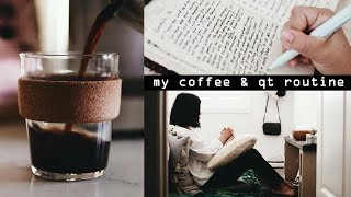 ☕️My Morning Coffee & Quiet Time Routine ⛅️#cozyu