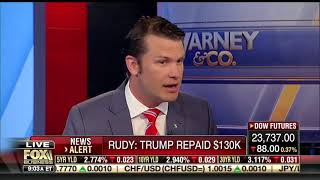 Pete Hegseth Claims Hush Money Campaign Payment Wasn't Illegal