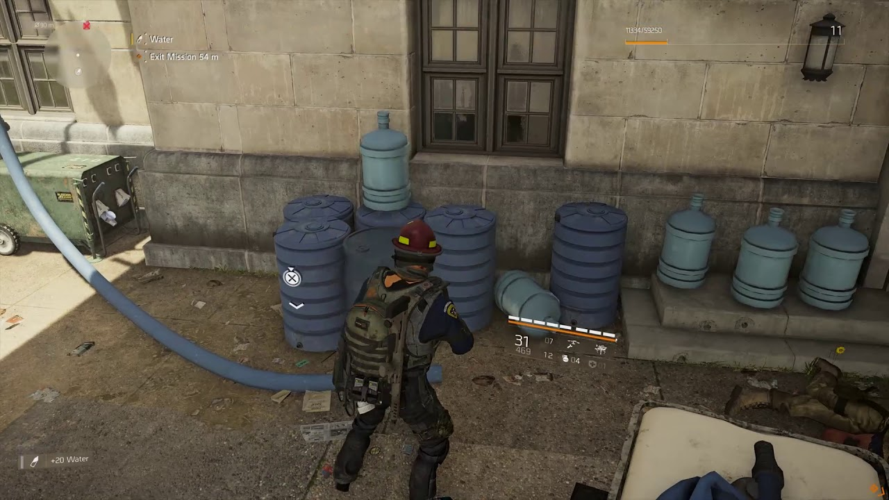 Where To Find Food Water And Components In The Division 2