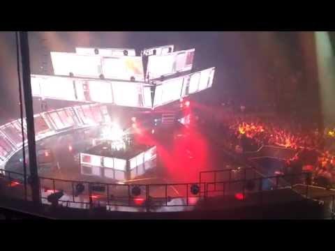 Muse - Newborn live @ Scotiabank Saddledome February 4th