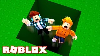 Roblox-FALLS into the BIGGEST HOLE in the WORLD!!