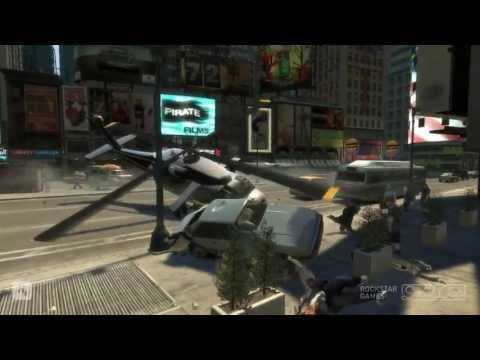 GTA IV - EVIL Helicopter DISASTERS - 720p HD