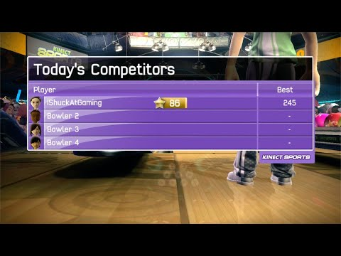 Kinect Sports: Bowling – Epic Strikes Battle! (4 players )