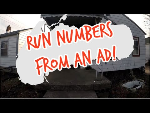 🔴LIVE - How to run numbers FROM AN AD! - 11JUL2020