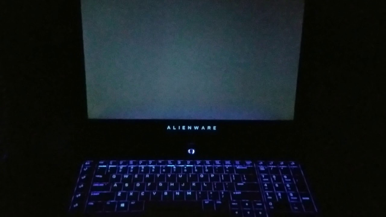 Alienware 17 r4 returned from warranty like this