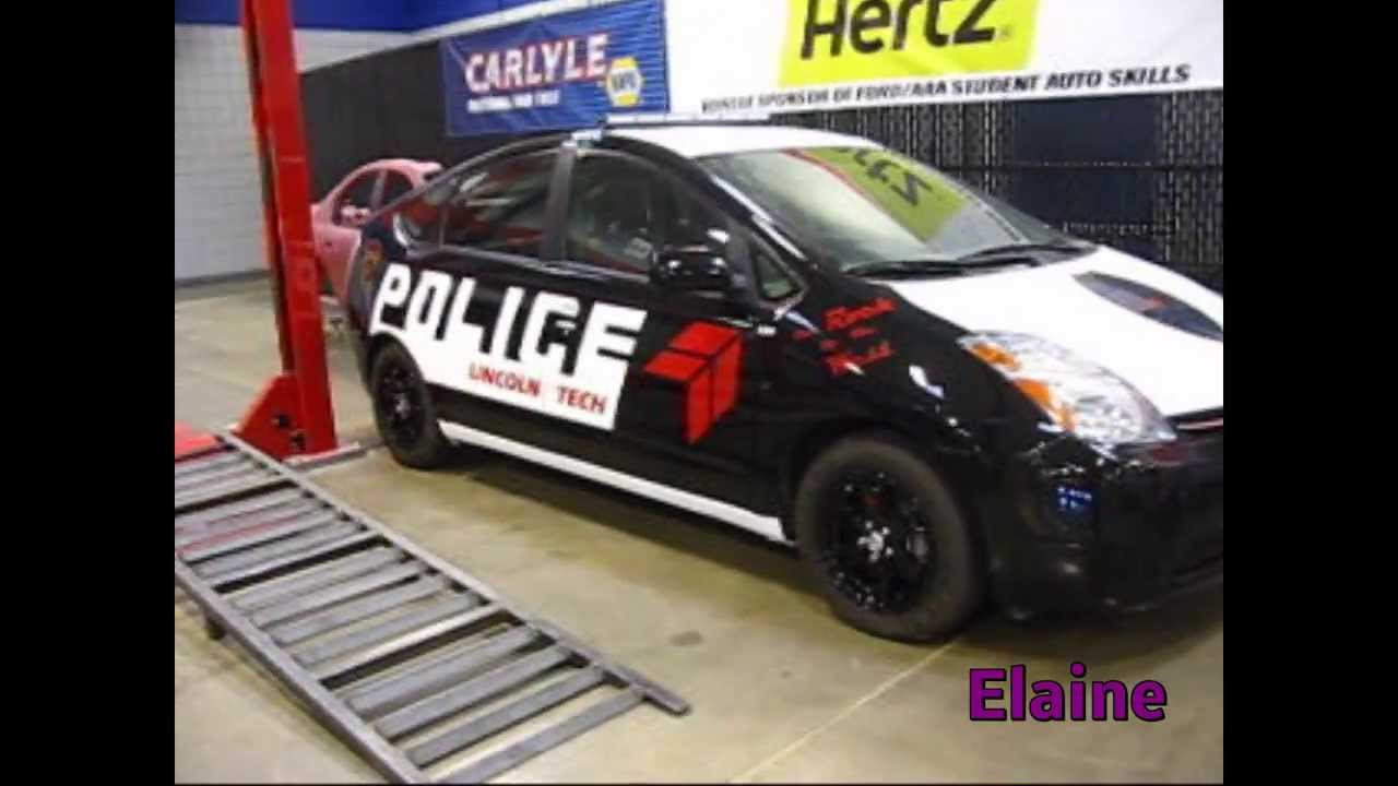 Prius police car commercial