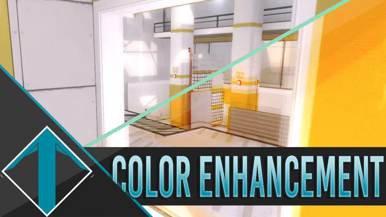 CS:GO Color enhancement SweetFX VS VibranceGUI
