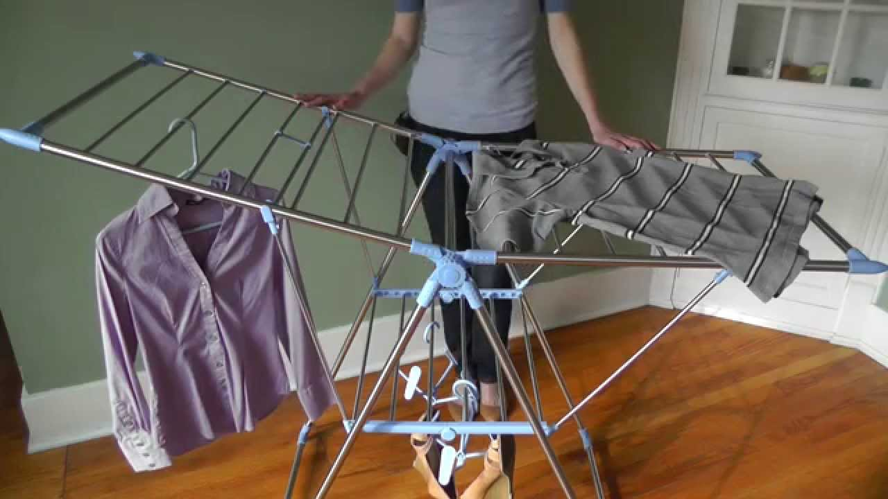 household essentials gullwing drying rack
