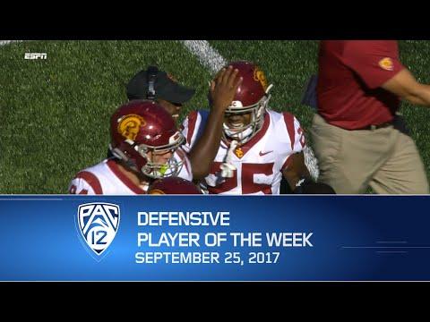 USC cornerback Jack Jones named Pac-12 Football Defensive Player of the Week