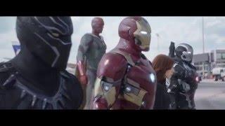 Первый мститель 3: Противостояние (2016) Дублированный трейлер фильма с Суперкубка (FullHD)