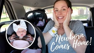 BRINGING NEWBORN BABY HOME!