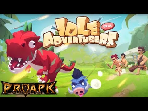 Idle Adventurers Gameplay Android / iOS