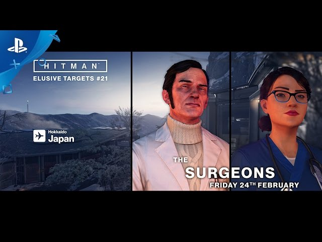 HITMAN - Elusive Targets - The Surgeons Trailer | PS4