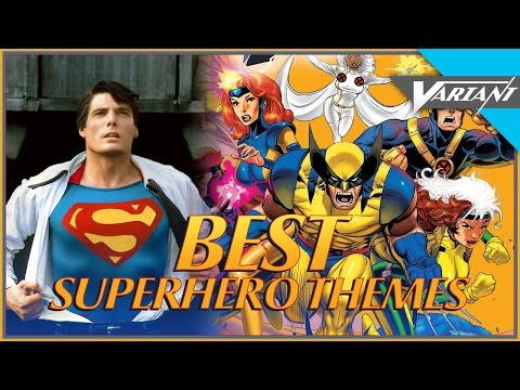 Top 10 Superhero Theme Songs!