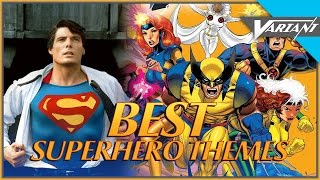 Top 10 Superhero Theme Songs!